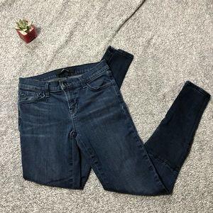 J Brand Stepped Hem Snowbird Jeans